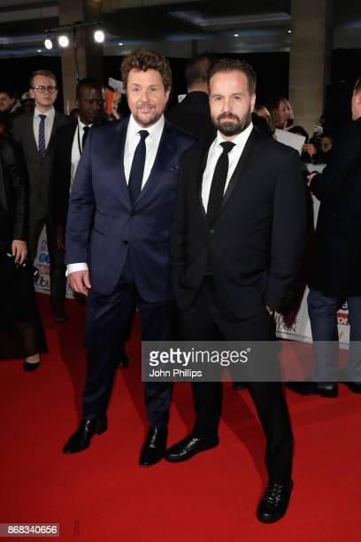 Michael Ball and Alfie Boe attend the Pride Of Britain Awards at Grosvenor House on October 30 2017 in London England
