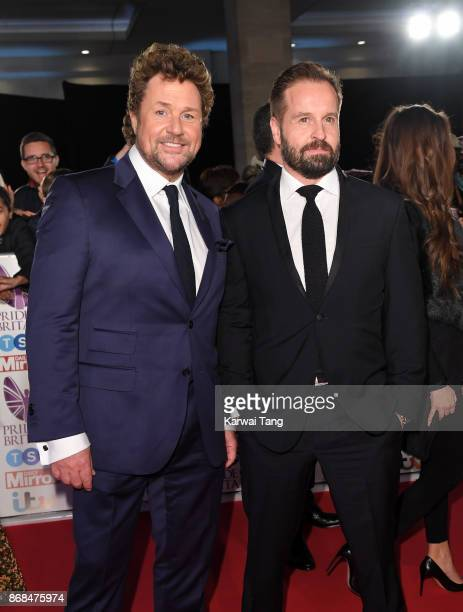 Michael Ball and Alfie Boe attend the Pride Of Britain Awards at the Grosvenor House on October 30 2017 in London England