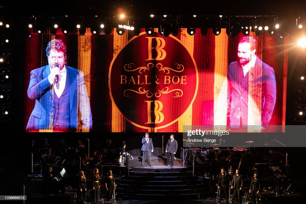 Michael Ball And Alfie Boe Perform At First Direct Arena, Leeds : ニュース写真
