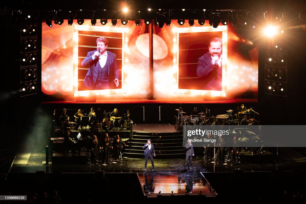 Michael Ball And Alfie Boe Perform At First Direct Arena, Leeds : News Photo
