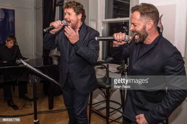 Michael Ball and Alfie Boe perform at The Groucho Club at private event for release of 'Together Again' album