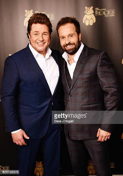 Michael Ball and Alfie Boe support BBC Children in Need Rocks for Terry at Royal Albert Hall on November 1 2016 in London England