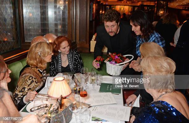 Michael Ball and Arlene Phillips attend the annual 'One Night Only At The Ivy' in aid of Acting For Others on December 2 2018 in London England