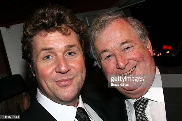 Michael Ball and father during 'Chita Rivera The Dancer's Life' Broadway Opening Night After Party at The Gerald Schoenfeld Theatre then The...
