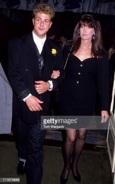 Michael Ball and Kathy McGowan during Michael Ball and Kathy McGowan at the Savoy Hotel at Savoy Hotel in London Great Britain
