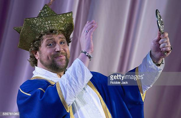 Michael Ball as A Poet in the English National Opera production of Kismet at the London Coliseum