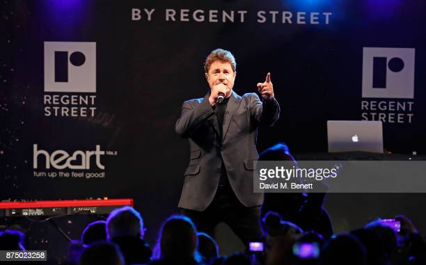 Michael Ball attends the Regent Street Christmas Lights switch on event with Heart FM on November 16 2017 in London England