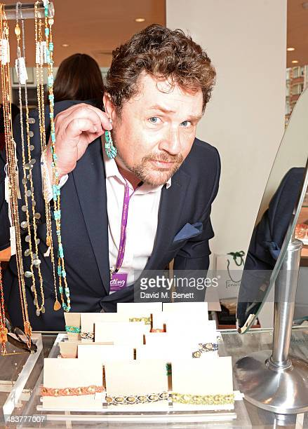 Michael Ball attends the Shop with the Stars a public shopping evening to celebrate The Olivier Awards with MasterCard to raise funds awareness of...