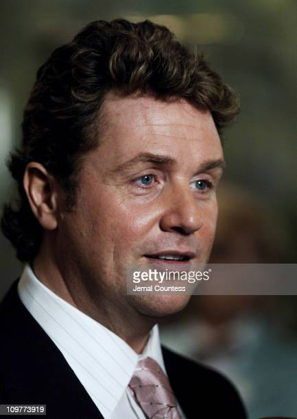 Michael Ball during 'The Woman in White' Broadway Opening Night After Party at Tavern on the Green in New York City New York United States