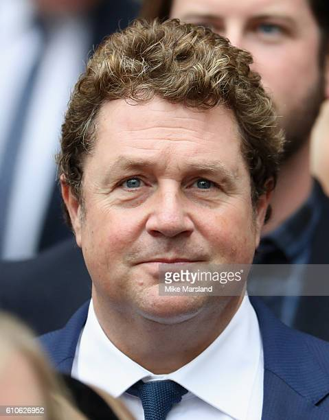 Michael Ball leaves a memorial service for the late Sir Terry Wogan at Westminster Abbey on September 27 2016 in London England
