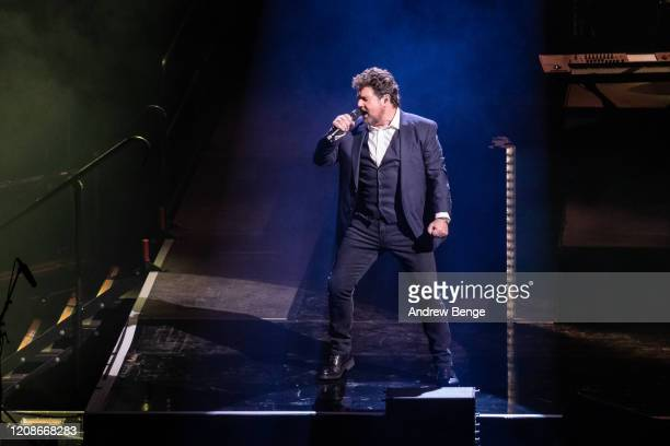 Michael Ball performs at First Direct Arena on February 25, 2020 in Leeds, England.