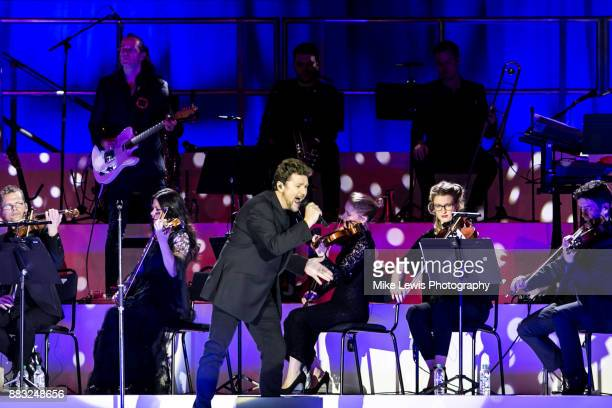 Michael Ball performs at Motorpoint Arena on November 30 2017 in Cardiff Wales