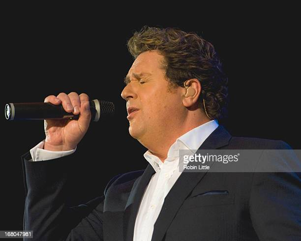 Michael Ball performs on stage at Hammersmith Apollo on May 4 2013 in London England