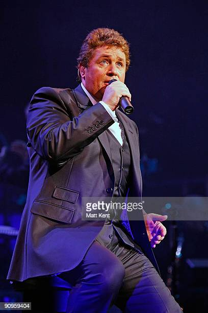 Michael Ball performs on stage at Royal Albert Hall on September 18 2009 in London England