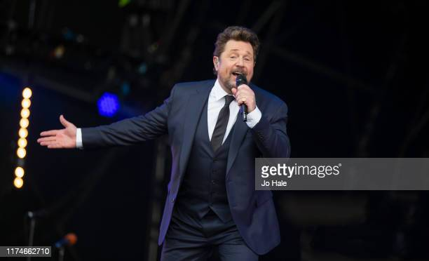 Michael Ball performs on stage during BBC Proms In The Park 2019 at Hyde Park on September 14, 2019 in London, England.