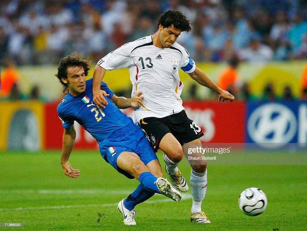 Semi-final Germany v Italy - World Cup 2006 : News Photo