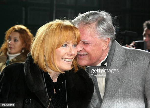 Michael Ballhaus and wife Helga attend the European Film Awards 2005 at Arena on December 3 2005 in Berlin Germany