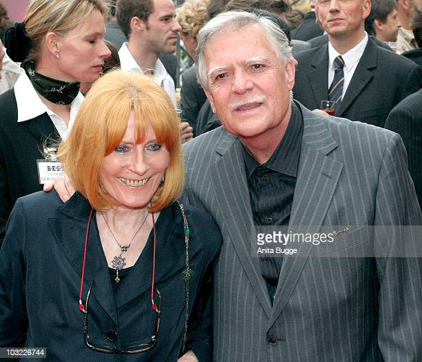 Michael Ballhaus and wife Helga Ballhaus