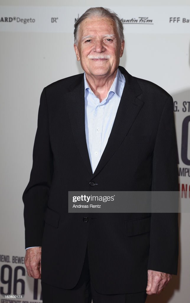 Michael Ballhaus attends the '3096 Tage' Berlin Premiere at CineStar on February 27, 2013 in Berlin, Germany.