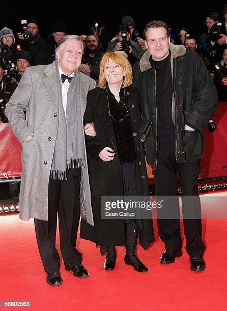 Michael Ballhaus with his wife Helga and son Sebastian attend the Opening Night of the 56th Berlin International Film Festival on February 9 2006 in...