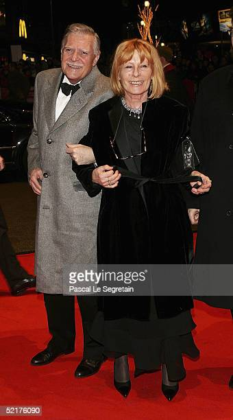 Michael Ballhaus with his wife Helga arrive at the Man To Man Premiere the Opening Night of the 55th annual Berlinale International Film Festival on...