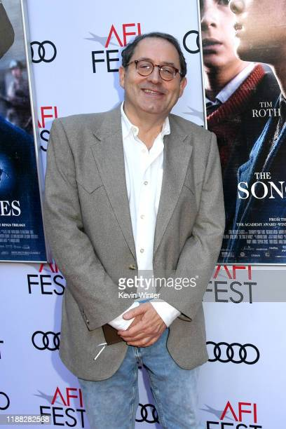 """Michael Barker attends """"The Song Of Names"""" Premiere at AFI FEST 2019 presented by Audi at TCL Chinese Theatre on November 17, 2019 in Hollywood,..."""