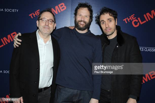 Michael Barker Kyle Marvin and Michael Angelo Covino attend Sony Pictures Classics And The Cinema Society Host A Special Screening Of The Climb at...
