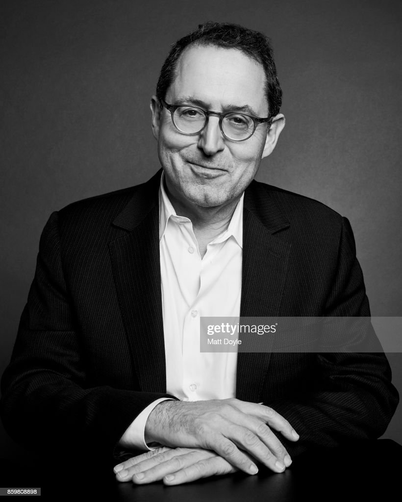 Michael Barker poses for a portrait at the 55th New York Film Festival on October 4, 2017.
