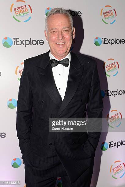 Michael Barrymore arrives for the iExplore Ball in support of the Street Child World Cup Brazil 2014 at Indigo2 on April 19 2012 in London England