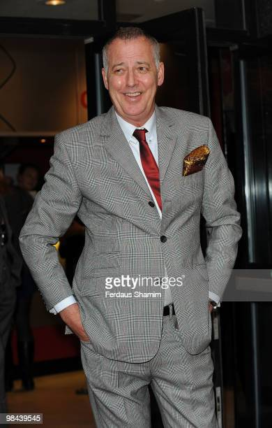Michael Barrymore attends the gala screening of 'Boogie Woogie' on April 13 2010 in London England