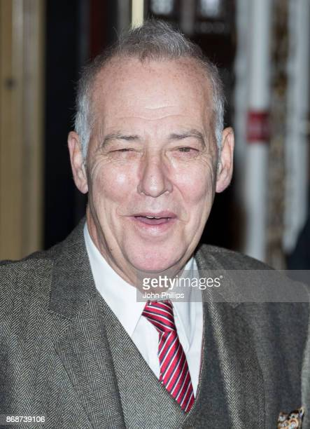 Michael Barrymore attneds 'The Exorcist' press preview at the Phoenix Theatre on October 31 2017 in London England