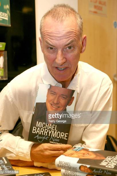 Michael Barrymore during Michael Barrymore Signs Copies of His Book 'Awight Now' at Borders in London October 11 2006 at Borders in Leeds Great...