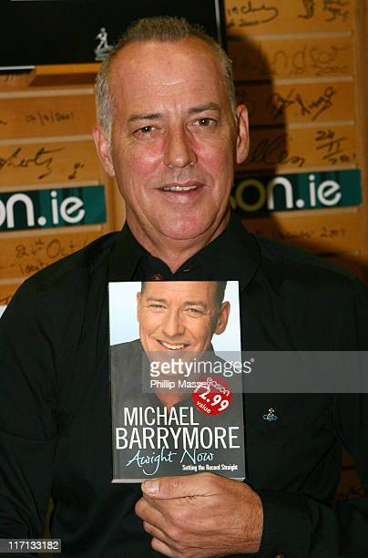 Michael Barrymore during Michael Barrymore Signs his Book Awight Now at Eason's in Dublin October 14 2006 at Eason's Bookstore in Dublin Ireland