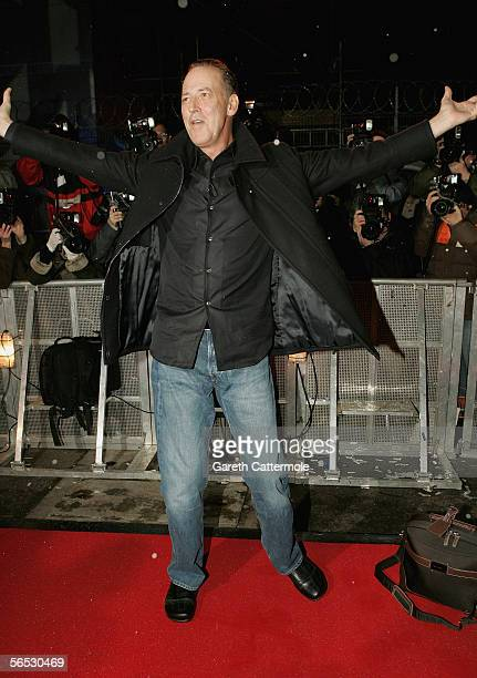Michael Barrymore poses for photographers as he enters the new Celebrity Big Brother house for the new series of the reality TV show, in Borehamwood...