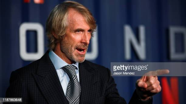 Michael Bay attends Netflix's 6 Underground New York Premiere at The Shed on December 10 2019 in New York City