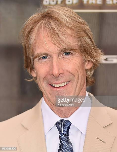 "Michael Bay attends the New York Premiere of the Paramount Pictures title ""Teenage Mutant Ninja Turtles Out of the Shadows"" on May 22 2016 at Madison..."