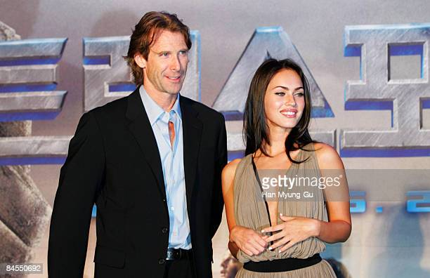 Michael Bay Director and Megan Fox