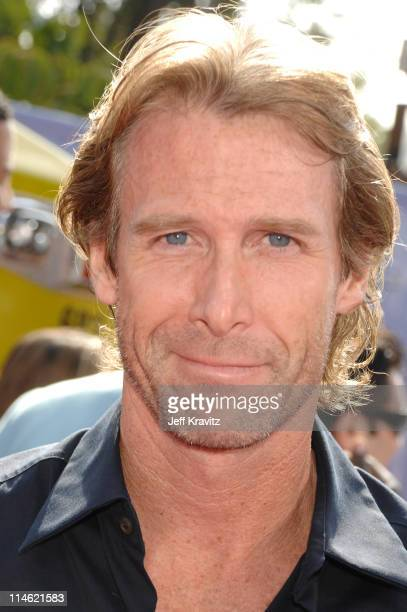 Michael Bay during 2007 MTV Movie Awards Red Carpet at Gibson Amphitheater in Los Angeles California United States