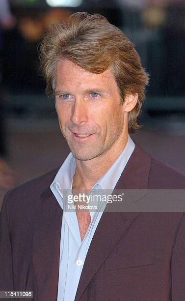 Michael Bay during The Island London Premiere at Odeon Leicester Square in London Great Britain