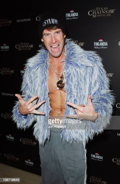 Michael Bay during The Texas Chainsaw Massacre Halloween Party At The Mondrian Hotel at Sky Bar At The Mondrian Hotel in West Hollywood California...