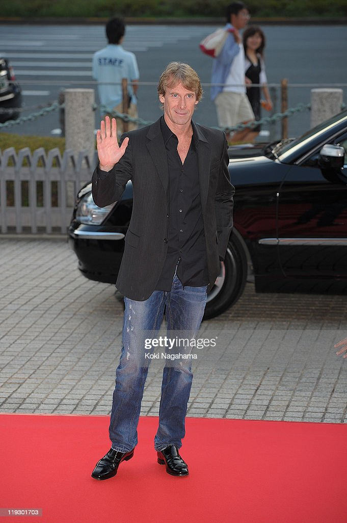 Michael Bay during the 'Transformers: Dark of the Moon' stage greeting at Osaka Station City Cinema on July 16, 2011 in Osaka, Japan. The film will open on July 29 in Japan.