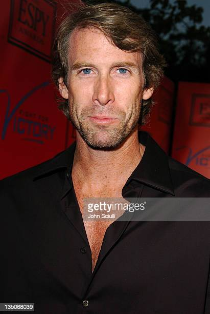 Michael Bay during Tom Brady and ESPN Host 'Fight For Victory' PreParty for the 12th Annual ESPY Awards at Playboy Mansion in Los Angeles California...