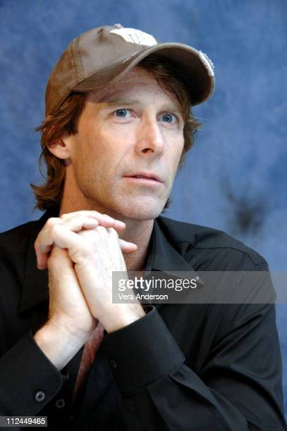 Michael Bay during Transformers Press Conference with Josh Duhamel Michael Bay Shia LaBeouf and Megan Fox at The Sanderson Hotel in London Great...