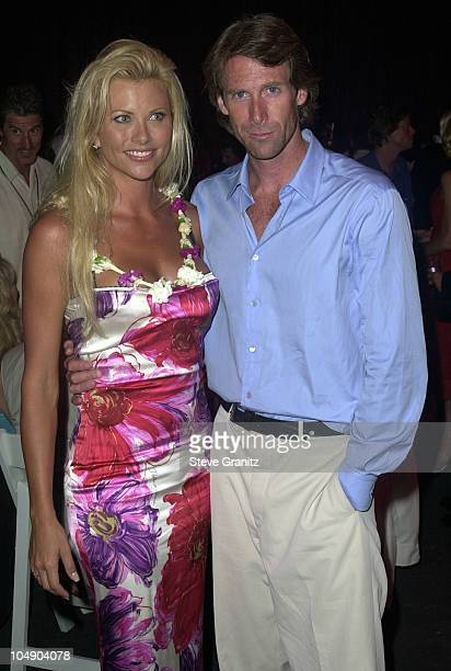 Michael Bay Lisa Dergan During Pearl Harbor Premiere After Party At Uss John C Stennis In