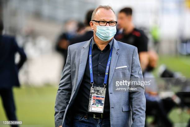 Michael BAYARD, Content Producer Prime Video during the Ligue 1 Uber Eats match between Marseille and Rennes at Orange Velodrome on September 19,...