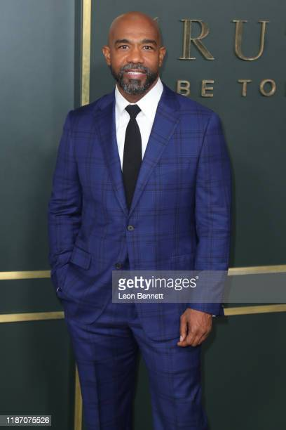 Michael Beach attends Premiere Of Apple TV's Truth Be Told at AMPAS Samuel Goldwyn Theater on November 11 2019 in Beverly Hills California