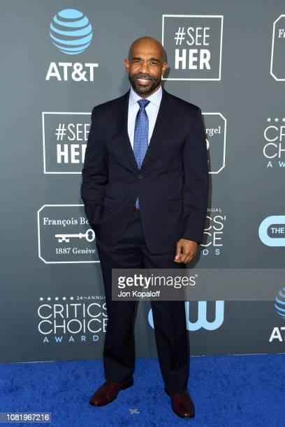 Michael Beach attends the 24th annual Critics' Choice Awards at Barker Hangar on January 13 2019 in Santa Monica California