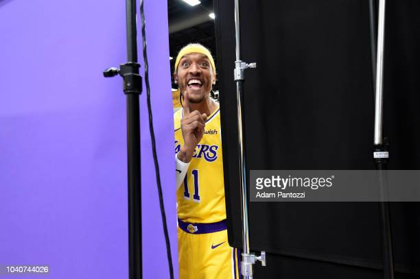 Michael Beasley of the Los Angeles Lakers is seen during media day at UCLA Health Training Center on September 24 2018 in El Segundo California NOTE...