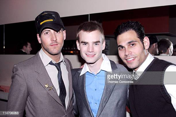 Michael Bellasario David Gallagher and Eric Podwall