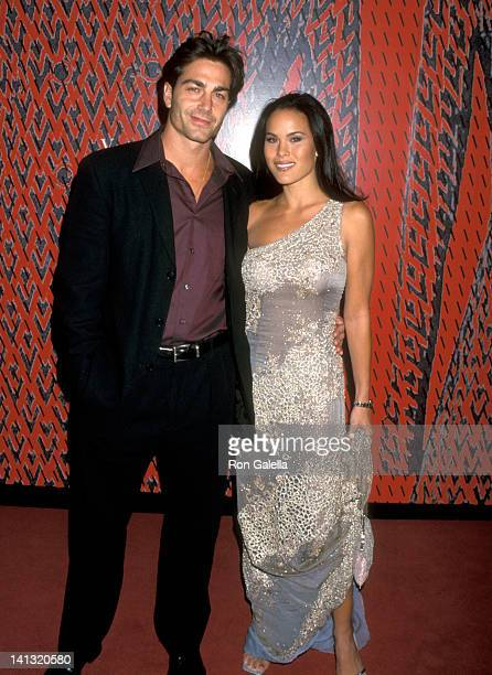 Michael Bergin and Stacy Kamano at the Valentino's 40th Anniversary to Benefit Children's Action Network, Pacific Design Center, West Hollywood.